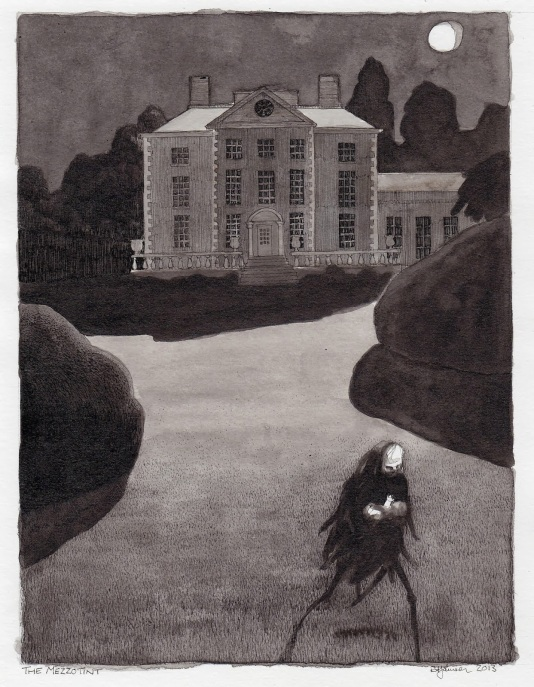 mezzotint Rich Johnson